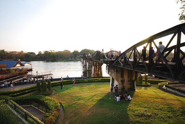 สะพานข้ามแม่น้ำแคว (The Bridge of the River Kwai)