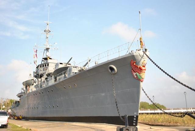 ท่องเที่ยวป้อมพระจุลจอมเกล้า ชมพิพิธภัณฑ์เรือรบหลวงแม่กลอง จังหวัดสมุทรปราการ