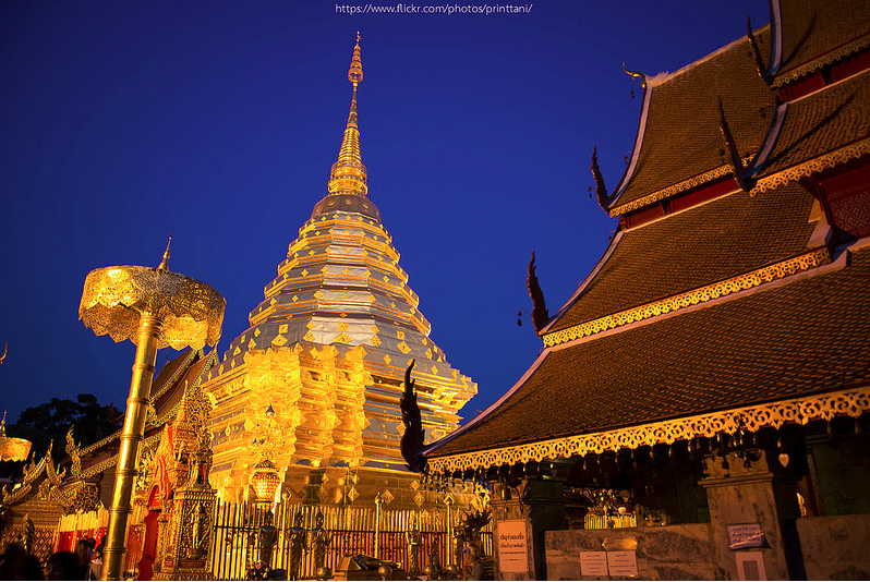 วัดพระธาตุดอยสุเทพราชวรวิหาร (Wat Phra That Doi Suthep)