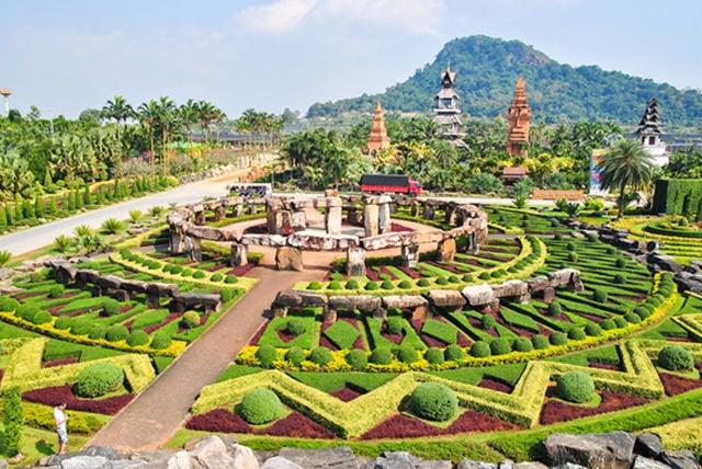 ท่องเที่ยวสวนนงนุช จังหวัดชลบุรี
