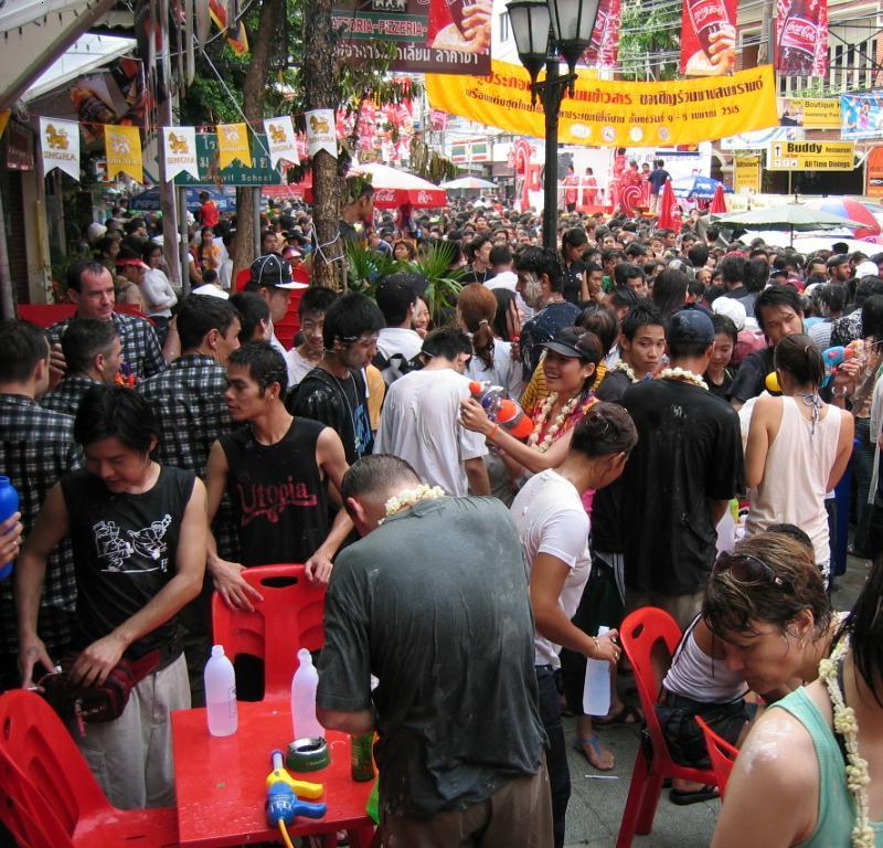 Songkran Festival Kao San Road 2008