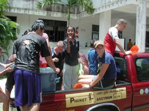 Songkran Festival Phuket Thailand 2008